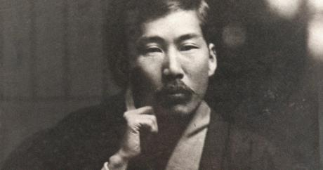 Black an white photo of Kotoku Shusui.