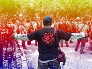 KUMAN protester
