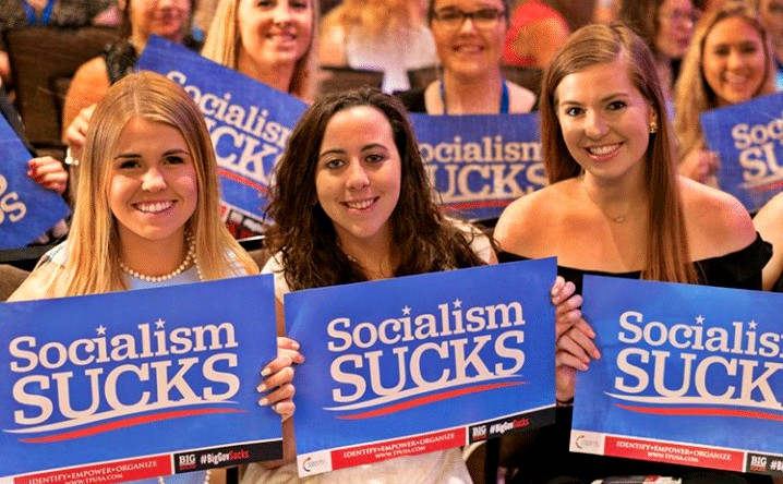 Turning Point USA students
