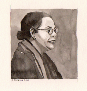 bell hooks drawing
