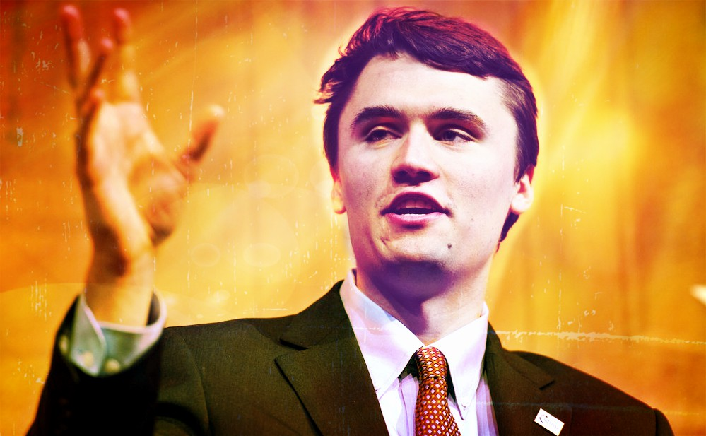 Charlie Kirk with Turning Point USA