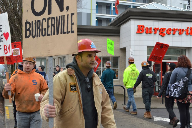 Burgerville labor solidarity
