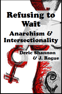 "Image of a pamphlet version of ""Refusing to Wait"""