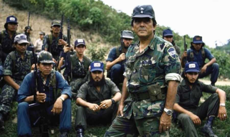 Photo of US back Contra paramilitaries