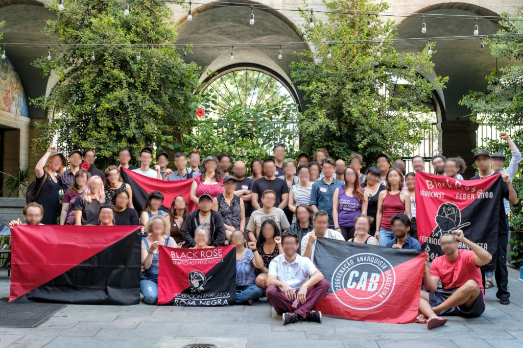 Group photo of Black Rose/Rosa Negra members at their 5th convention in Los Angeles, CA.