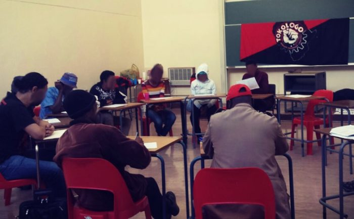 Educational workshop led by Tokologo collective.